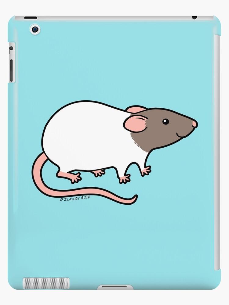 Friendly Hooded Rat by Zoe Lathey