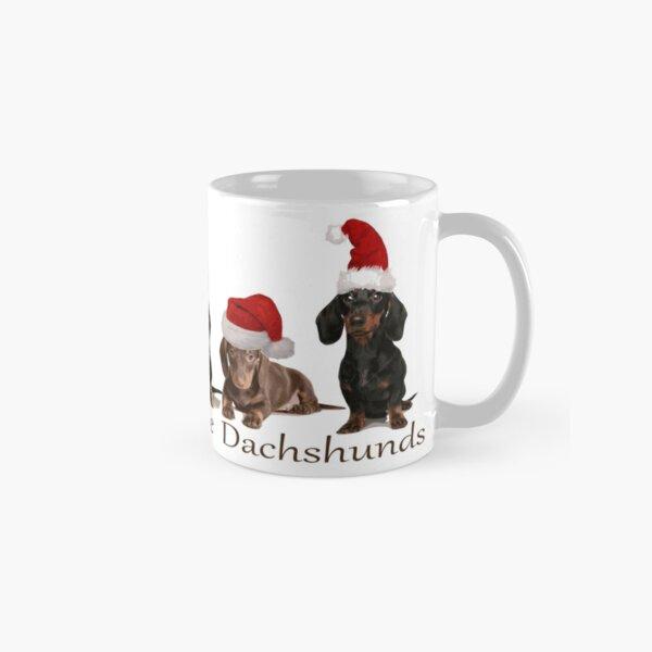 Christmas Dachshunds Classic Mug