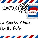 Letter To Santa Claus by Sonia Pascual