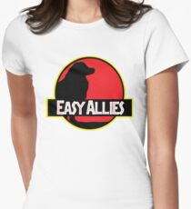 Jurassic Allies Fitted T-Shirt
