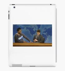 Leslie Jones and Colin Jost SNL iPad Case/Skin