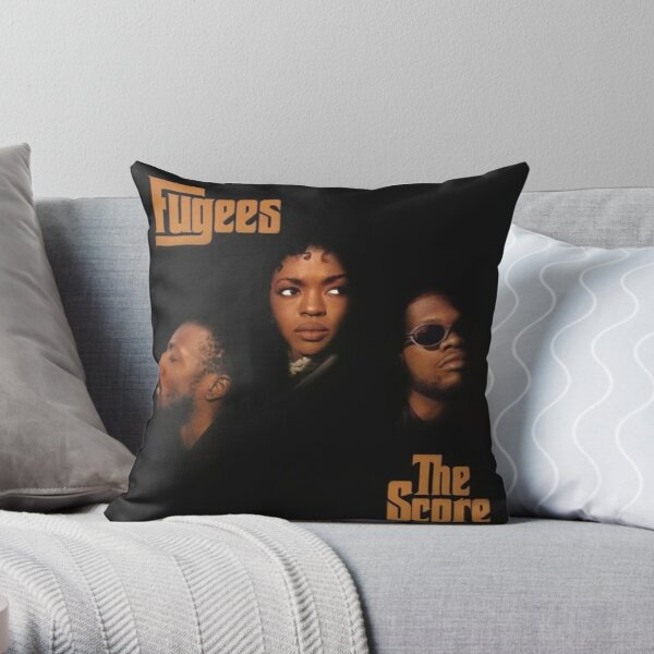 Fugees - The Score Throw Pillow