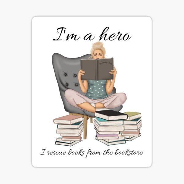 I'm A Hero Sticker