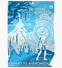 Explorers Wanted Poster