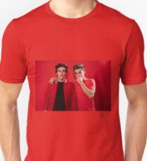 Dolan Twins red Unisex T-Shirt