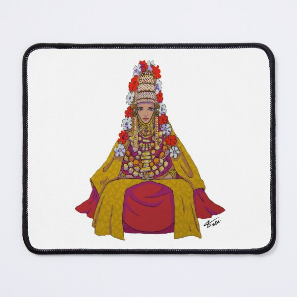 Jewish Yemenite  Bride  Mouse Pad