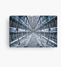 Geometric Building Canvas Print