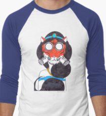 Fearsome Desert Tigress Men's Baseball ¾ T-Shirt