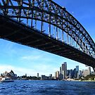 Sydney Harbour Bridge - a different perspective by Gary Kelly