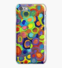 Molecules through a pop art lens iPhone Case/Skin