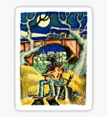 Hank Williams Ramblin Man Sticker