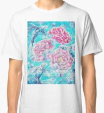 Peonies and Poissons option 1 Classic T-Shirt