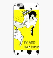 Jazz age deco Drink champagne, bubbles iPhone Case