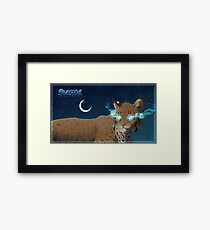 Denece the Sylcoe  Framed Print