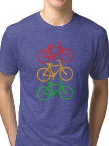 Traffic Light Bicycles Tri-blend T-Shirt