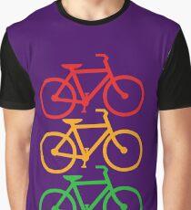 Traffic Light Bicycles Graphic T-Shirt