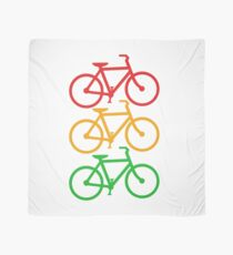 Traffic Light Bicycles Scarf
