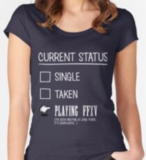 Always playing Women's Fitted Scoop T-Shirt
