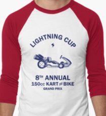 Lightning Cup Kart & Bike Grand Prix Men's Baseball ¾ T-Shirt