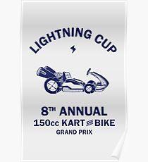 Lightning Cup Kart & Bike Grand Prix Poster