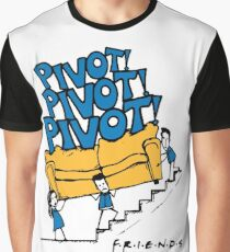 Friends- Pivot Pivot Pivot Graphic T-Shirt