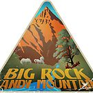 Big Rock Candy Mountain Luggage Label by DocArcane