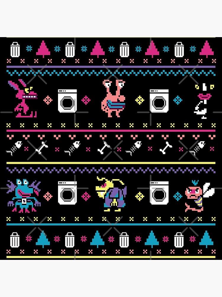 Nickelodeon - Aahh!!! Real Monsters - Christmas Crochet #1 de njlf