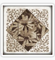 Perennial Daisy With Embossed Blends Sticker
