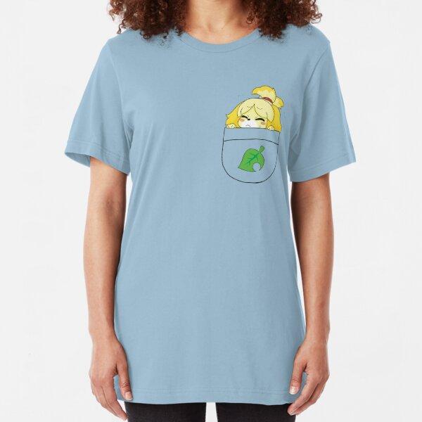Pocket Isabelle + Leaf Slim Fit T-Shirt