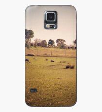 Kangaroo Flats Case/Skin for Samsung Galaxy