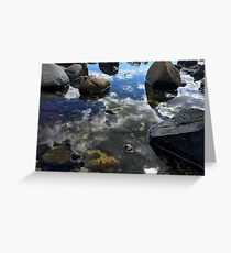Mirror Shallows Greeting Card