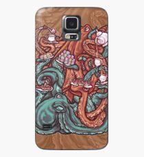 Octopus Tea Party Case/Skin for Samsung Galaxy