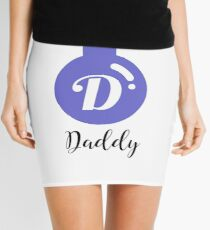 Daddy Personalised Bauble Mini Skirt