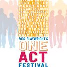 EST/LA 2016 One Act Poster Art by ESTLA
