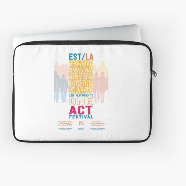 EST/LA 2016 One Act Poster Art Laptop Sleeve