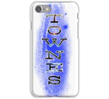 TOWNES VAN ZANDT iPhone Case/Skin