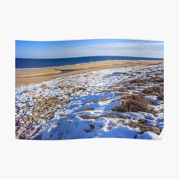 Sun sand and snow Poster