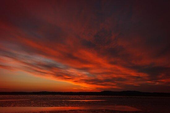 Smoldering nightfall by Owed To Nature