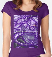 Painted Amethyst Women's Fitted Scoop T-Shirt
