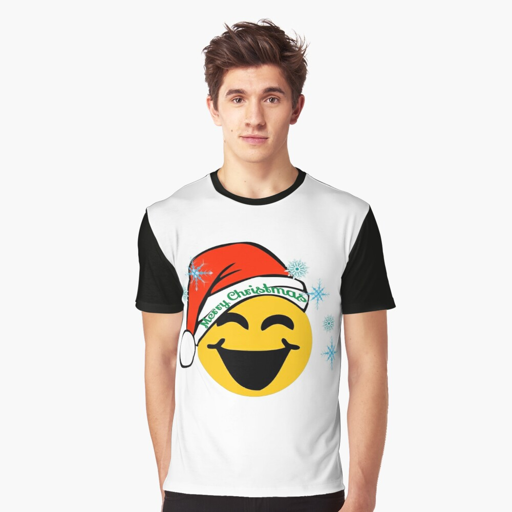 Emoticon Sublimation Girl/'s T-Shirt