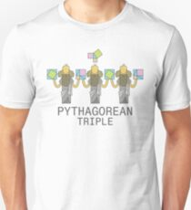 Pythagorean Triple Unisex T-Shirt