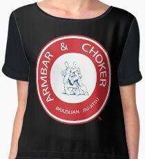 Armbar & Choker BJJ Women's Chiffon Top