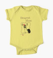 Deer Mom - I love my dear family One Piece - Short Sleeve