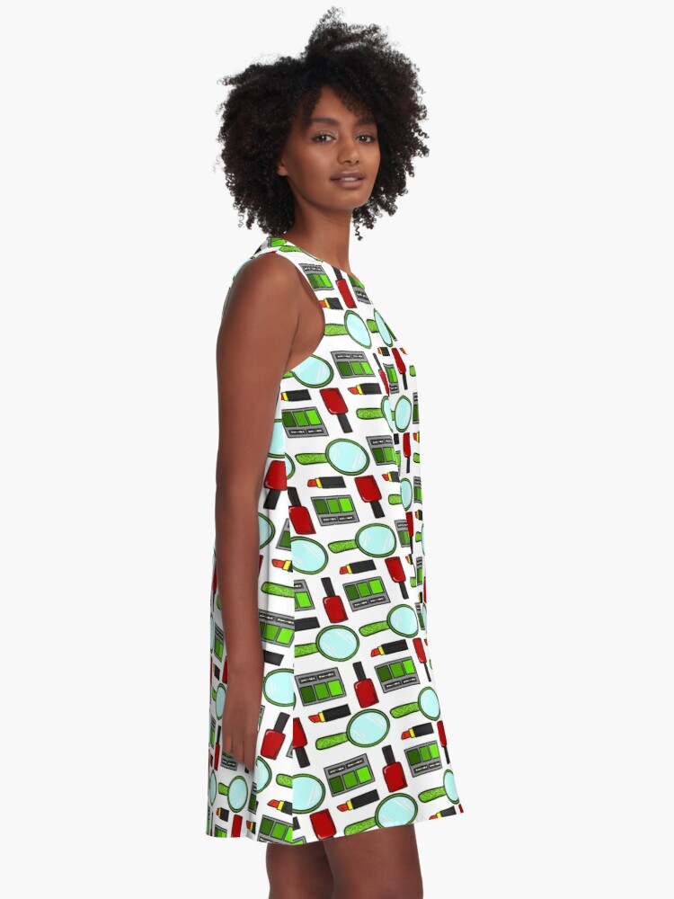 Alternate view of Holiday Fashionista A-Line Dress