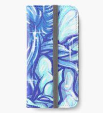 Painted Lapis Lazuli iPhone Wallet/Case/Skin