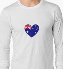 Australian Heart T-Shirt Long Sleeve T-Shirt