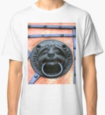Middle Ages door handle, gate in Germany Classic T-Shirt