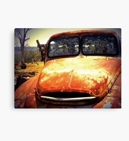 Farm Truck  Canvas Print