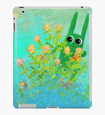 green bunny iPad Case/Skin
