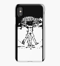 invasion of the vitruvian snatchers iPhone Case